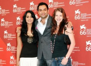 Abhay-Deol-and-Mahi-Gill-at-66th-Venice-Film-Festival